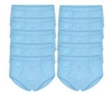 10-Pack Heren slips met gulp M3000 Bleu_