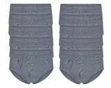 10-Pack Heren slips met gulp M3000 Grijs_