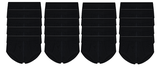 20-Pack Heren slips met gulp M3000 Zwart_