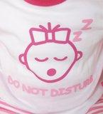 "Baby pyjama ""Do not Disturb"" M3000 Roze_"