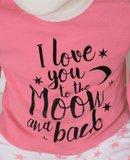 "Baby pyjama ""To the Moon"" M3000 Roze_"