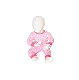Baby pyjama M3000 Star Roze_