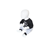 """Baby pyjama """"To the Moon"""" M3000 Zwart_"""