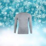 Unisex Thermo shirt L.M. Grijs