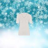 Dames Thermo shirt K.M. Wolwit