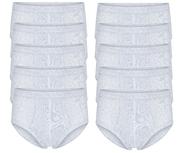 10-Pack Heren slips met gulp M3000 Melee Grijs