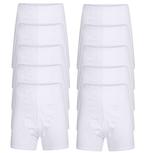 10-Pack Heren sportbroeken M3400 Wit