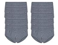 10-Pack Heren slips met gulp M3000 Grijs