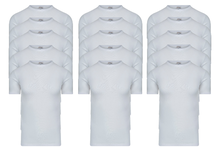 15-Pack Heren T-shirts O-Hals M3000 Wit