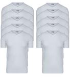10-Pack Heren T-shirts V-Hals M3000 Wit