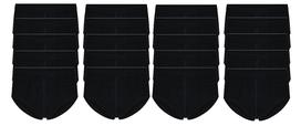 20-Pack Heren slips met gulp M3000 Zwart