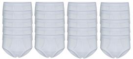 20-Pack Heren slips met gulp M3000 Wit
