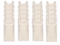 20-Pack Heren singlets M3000 Huid