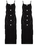 10-Pack Dames hemden Brigitte M3000 Zwart