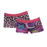 2-Pack Meisjes shorts Combi