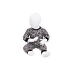 Baby pyjama M3000 Leopard Bruin