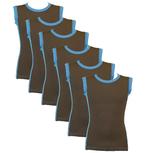 6-Pack Jongens mouwloos shirt B.Y. Sjimmie
