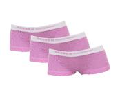 3-Pack Meisjes shorts Lilly Roze