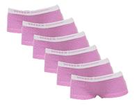 6-Pack Meisjes shorts Lilly Roze