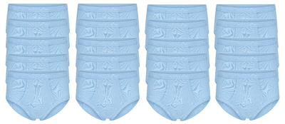 20-Pack Heren slips met gulp M3000 Bleu