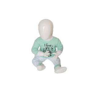"Baby pyjama ""To the Moon"" M3000 Mint"